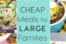 Frugal Money Saving Ideas / Family-friendly ways to save money and stick to your budget:  Frugal meal planning, budgeting, up cycling & savvy shopping tips.