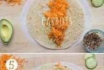 Vegan and vegetarian recipes.