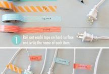 HOME: Organization / Organization, How To's, & Other Great Ideas for the Home #organization #home