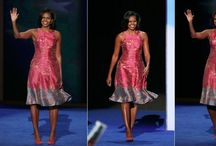 MObama dresses / Admire her style / by Sue Cassidy