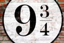 """Platform 9 3/4 / I'm a """"Harry Potter"""" fan! / by Elizabeth Johnson"""