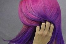 Ombre Obsessions and Dip-Dye Divas / Blending multiple hues in a gradual progression is a delightful way to display your color.