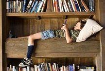 Inspiration: Bookshelves, Bookmarks & Bookends!