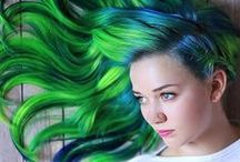 Hair Color Trends / Here are some of the hottest trends in alternative hair color!