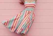 Seeing Stripes / Symmetrically striped and swoon-infused.