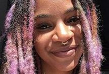 Drop Dread Beautiful / Manic Panic is an amazing way to make your dreads really stand out!