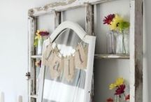 Craftiness: Frames / Window Frames too! / by Amie Young