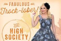 Fabulous Frock-tober! / For the month of October, we're giving you darlings the chance to win fabulously big!  / by Unique Vintage