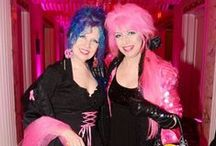 """MANIC PANIC's Tish & Snooky / We would bet a million dollars that your bosses aren't as cool as ours! They started the hair color revolution back in 1977 and have changed the world ever since. Surely you've heard of the """"OG"""" Original Gangsters... well these ladies are the """"OP"""" Original Punks."""
