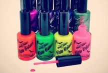 Claw Colors / All of our nail polishes are free of Phthalates, Toluene, and Formaldehyde! Our neon shades even glow under black light.