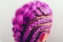 MANIC PANIC Brilliant Braids / Nothing shows off a handful of beautiful MANIC PANIC colors quite like a braid! Check out these amazing combinations and their plaited presentation!