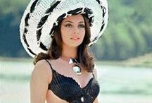 Black Bikini Dolls / There's something about classic black on the beach, darlings...