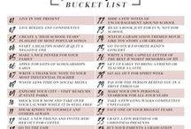 SENIORS: Bucket List