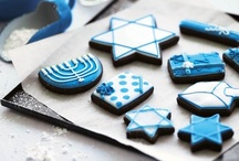 Hanukkah Recipes / Hannukkah recipes sweet as well as savory to help celebrate all eight days of festivities.