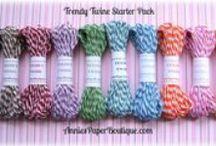Trendy Twine Petites & Minis / Don't need a full spool, then grab a petite or mini.