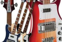 Rickenbacker / Guitars and basses / by Mike Wingate