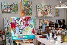 Artist Studio & Living Spaces