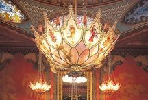 BRIGHTON ★ Pavilion 2 / INTERIOR: The Royal Pavilion in Brighton is a former royal residence. It was built in three campaigns, beginning in 1787, as a seaside retreat for George, Prince of Wales (Prince Regent), Exterior pins are on a separate board. / by Hove ★ Actually