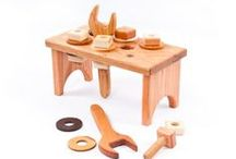 Toys - Tools, workbench, busy board / Workbench and tools for kids, busy boards. / by morsa (Sergio Morales T.)