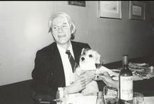 Famous Artists that Love Dogs / Eccentric dogs owners through the ages.