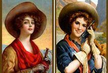 Vintage cowboys & cowgirls