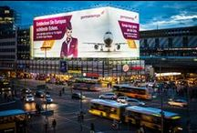 Travel ♥ Giant Posters / Travel brands using Giant Posters to advertise OOH with blowUP media.