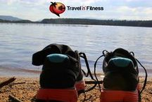 Travel n fitness / Selection of awesome motivational ways to travel and stay fit and healthy.