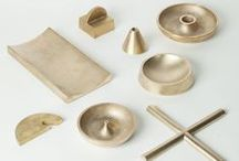 Metal / brass - copper - gold