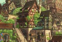 Рисунок. Город