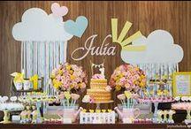 Festa Infantil / Decoração, bolo, lembrancinhas