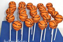 Team Goodies / The yummiest treats around- show your loyalty to your favorite sports team by bringing these to the next draft party.