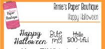 Happy Halloween Stamps by Annie's Paper Boutique
