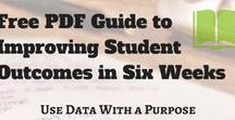 Data-Driven Instruction / Resources to make data-driven instruction more effective and focused on looking at student work. Inquiry cycles and PLC also included.