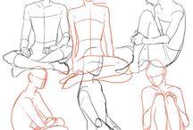 anatomy/drawing tips