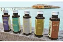 Indochine Natural's Products / Let the exotic fragrances of Indochine Natural body care products take you away to a time and place where life moves more slowly and body care is a beautiful, natural and whole body experience.