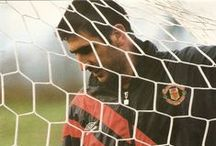 The King / Eric Cantona's Manchester United career in pictures.