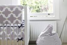 Nursery / Beautiful nursery bedding, decorations and accessories.