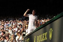 At Last! / Andy Murray becomes the first british male to win Wimbledon since Fred Perry 77 years ago.