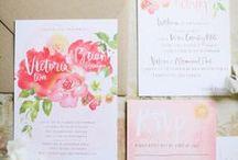 Wedding invitations / Invitations