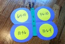 Math Activities and Ideas for Kids / Ideas & products to encourage kids in their love of math!