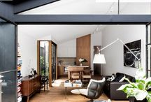 Contemporary Interiors / What's happening now in home interiors all over