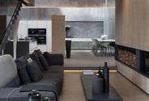 Modern Interiors / Clean lines, minimalistic, luxe materials, structured, uncluttered