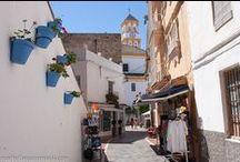 Marbella Old Town, Spain / Old Town in Marbella Spain, Casco antiguo de Marbella, España