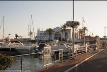 Sports Port in Marbella, Spain / Sports port in Marbella, Spain, Puerto deportivo en Marbella, España