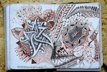 Zentangle - my favourite tiles