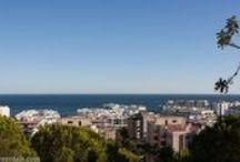 Views over Marbella town & sea, Spain / Views over Marbella town & sea, Spain, vistas sobre Marbella ciudad y mar, España