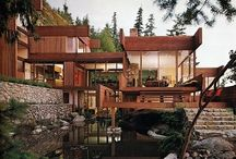 Natural Contemporary Homes / Homes reflecting a contemporary take on the fusion between earth and design
