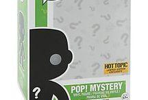 Pop Vinyl collectible figures / These figures look pretty amazing.