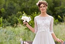 Our Willowby by Watters Bridal Gowns / One part Napa Valley chic, one part laid-back elegance, one part Boho, sultry charm. A beautiful mix.