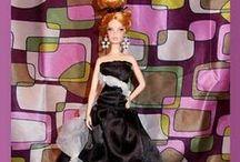 Barbie clothes / Itse ommeltuja barbien vaatteita